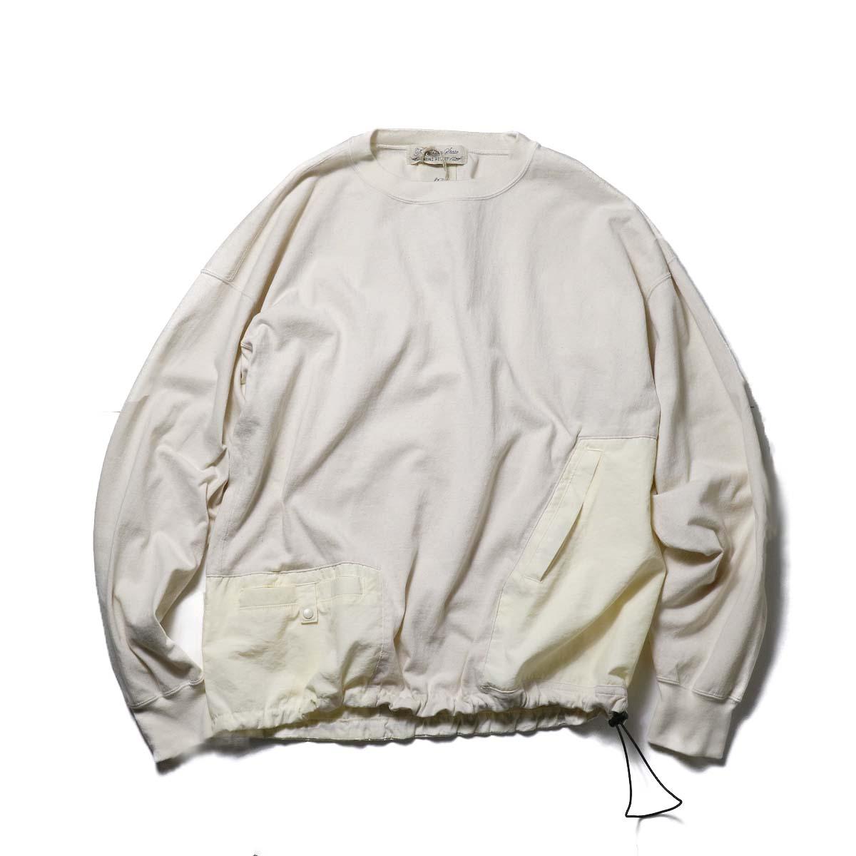 REMI RELIEF / 天竺アウトドアロンT (Off White)