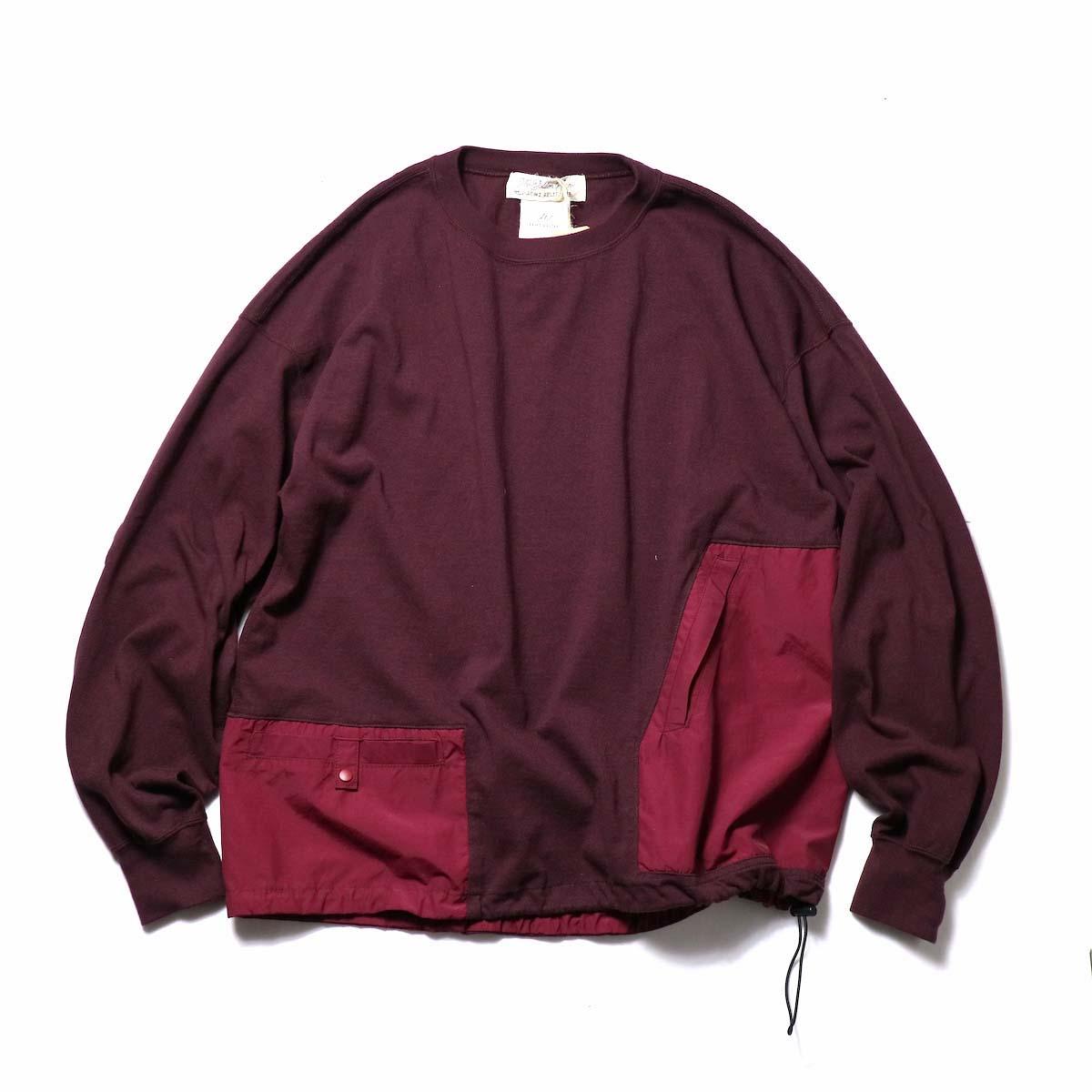 REMI RELIEF / 天竺アウトドアロンT (Purple)
