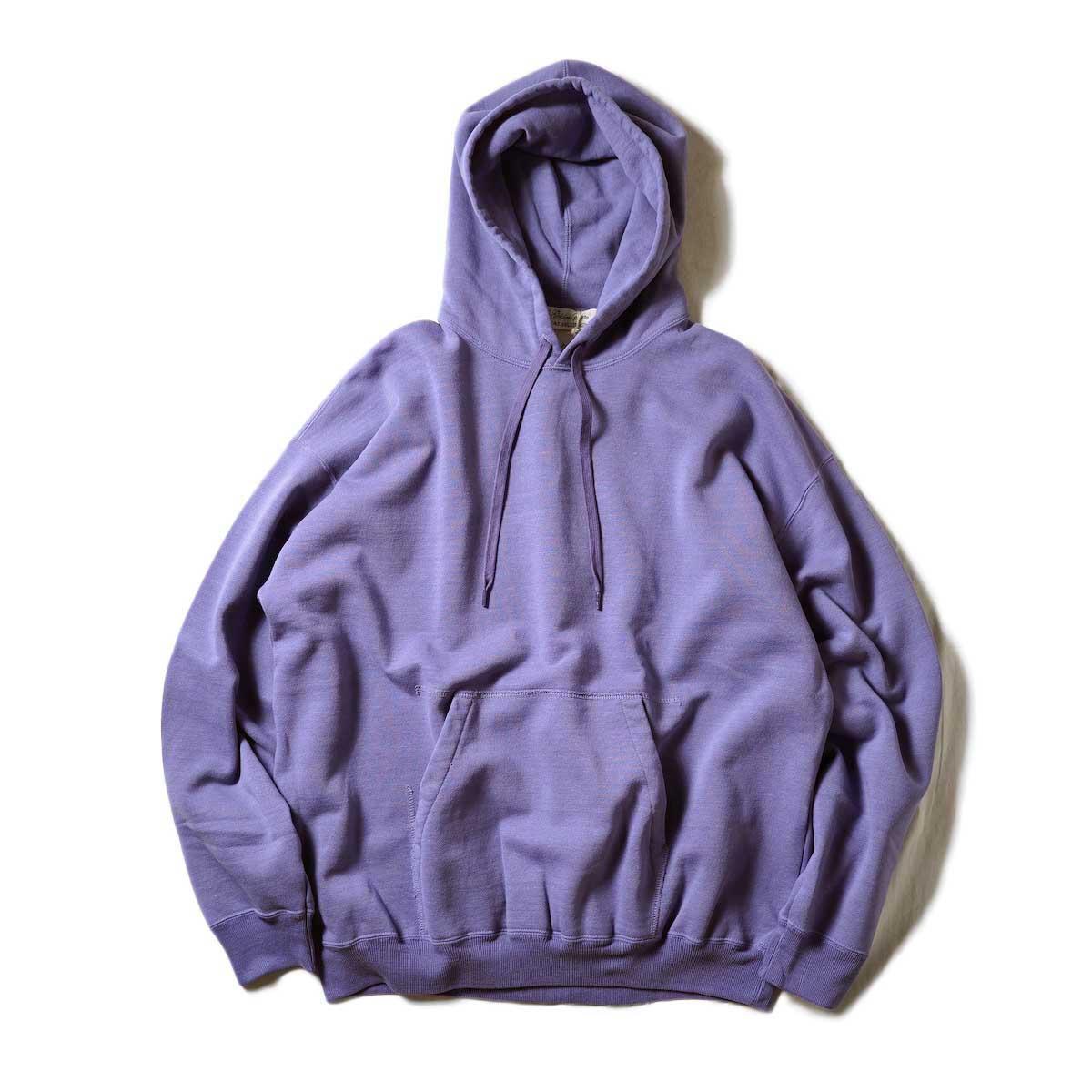 REMI RELIEF / T/C裏毛パーカー (Purple)