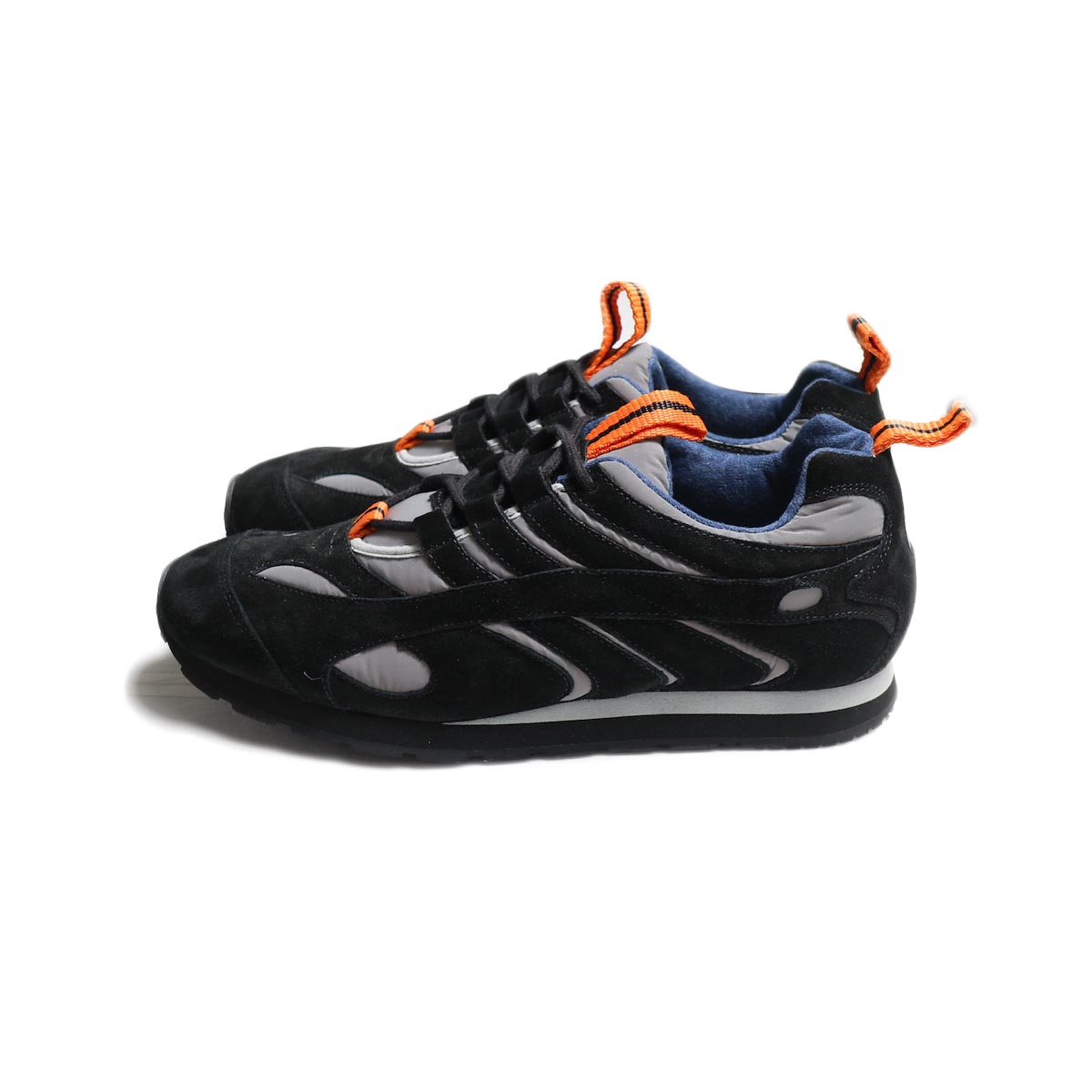 REPRODUCTION OF FOUND / FRENCH MILITARY TRAINER -Reflection/Black