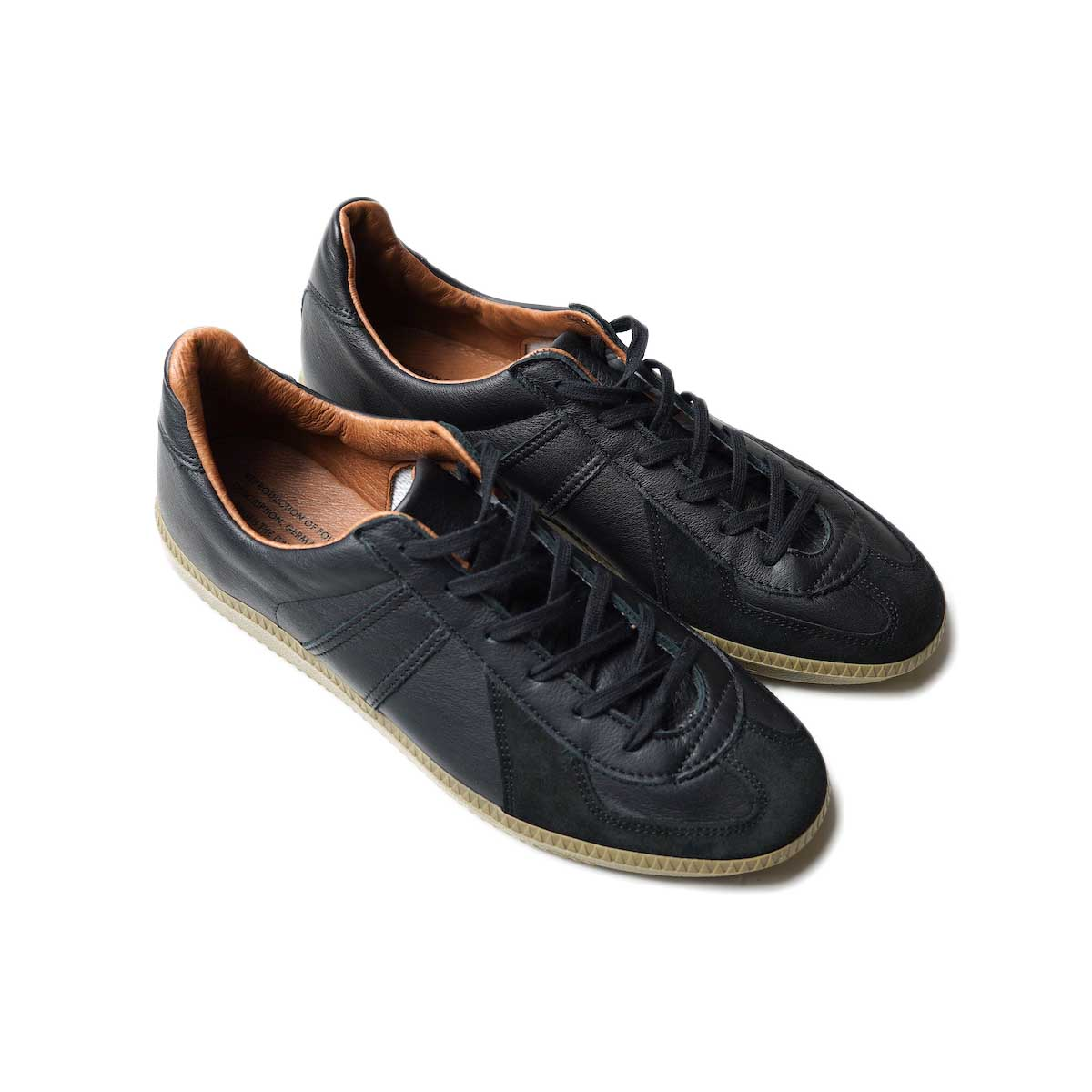 REPRODUCTION OF FOUND / GERMAN MILITARY TRAINER (Black)