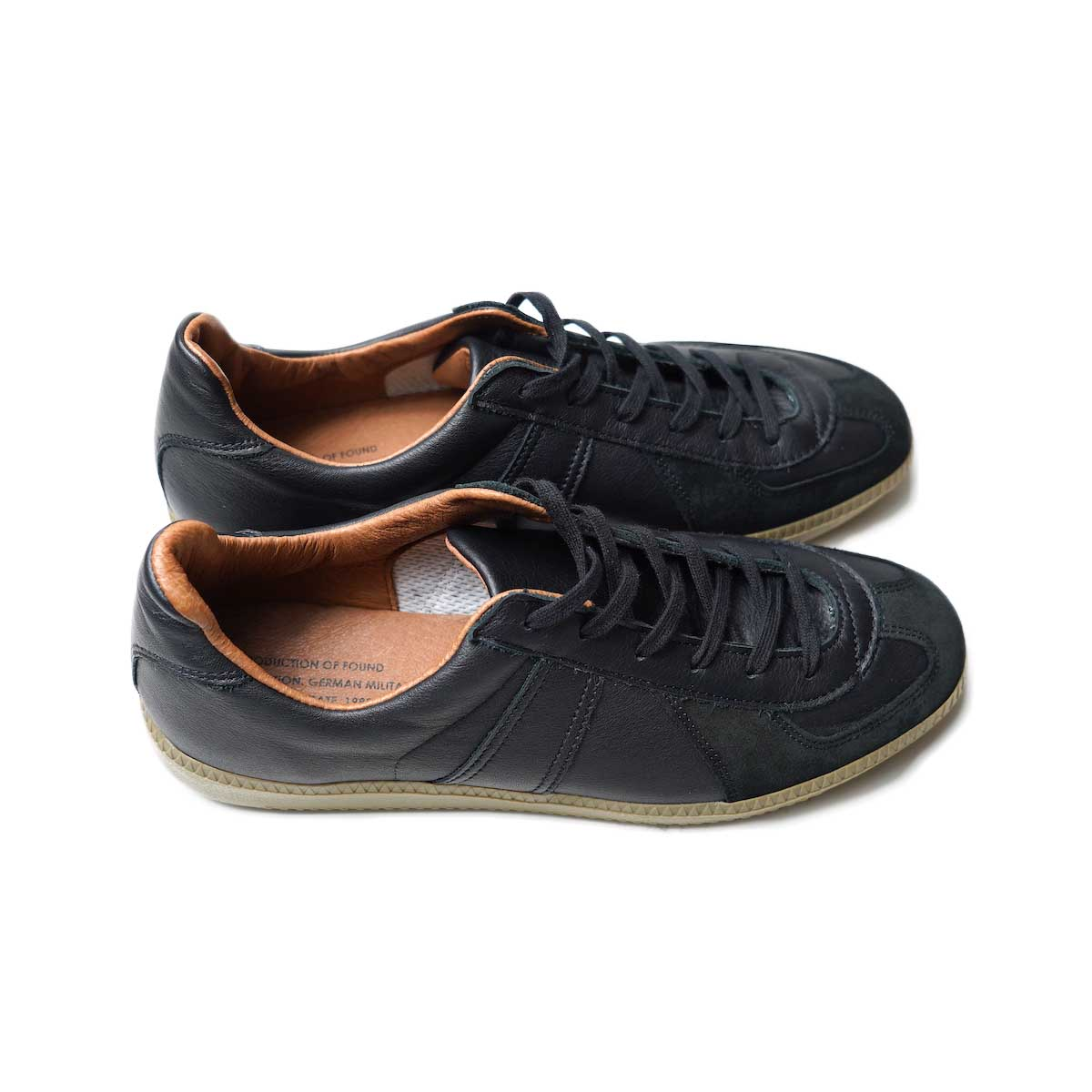 REPRODUCTION OF FOUND / GERMAN MILITARY TRAINER (Black)サイド