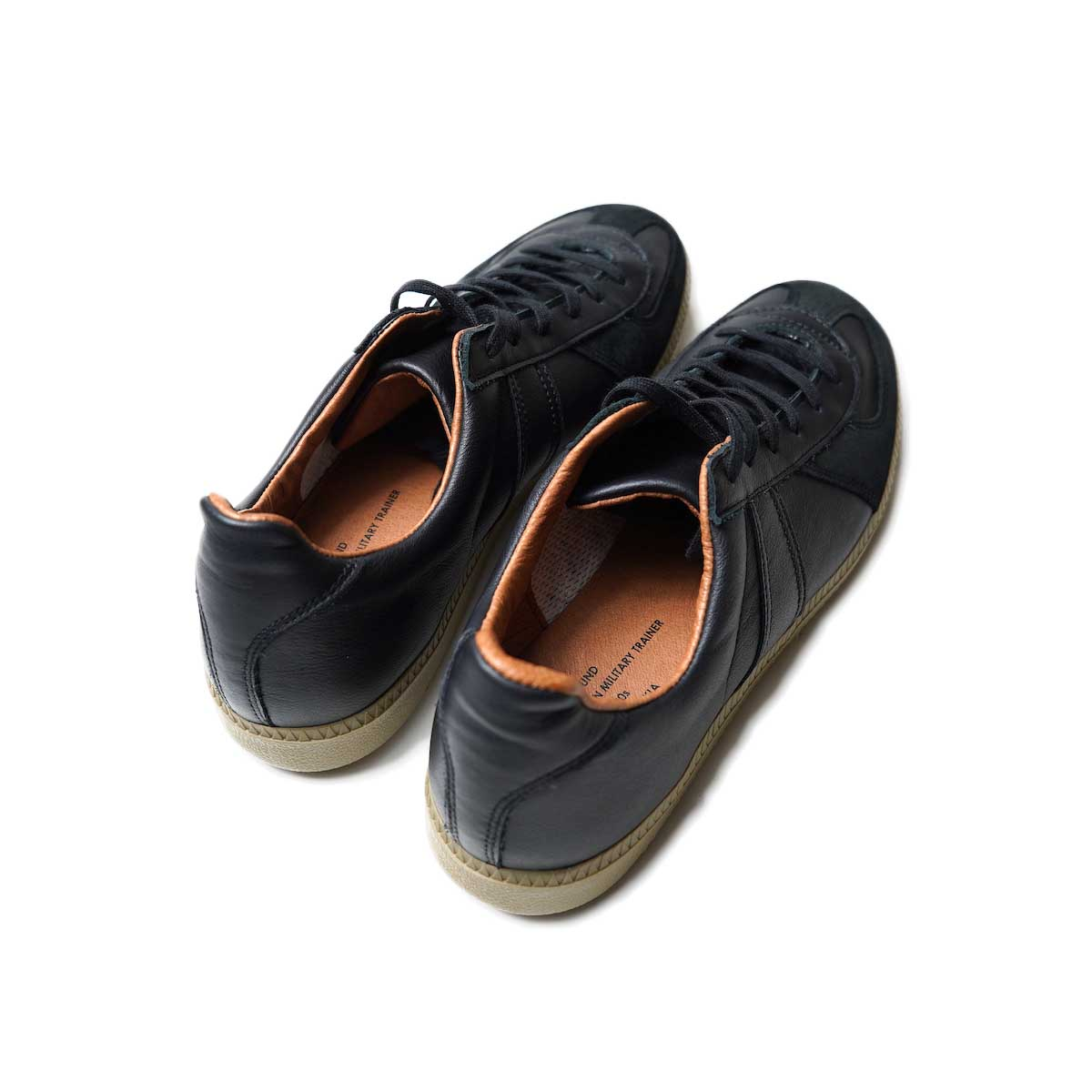REPRODUCTION OF FOUND / GERMAN MILITARY TRAINER (Black)背面