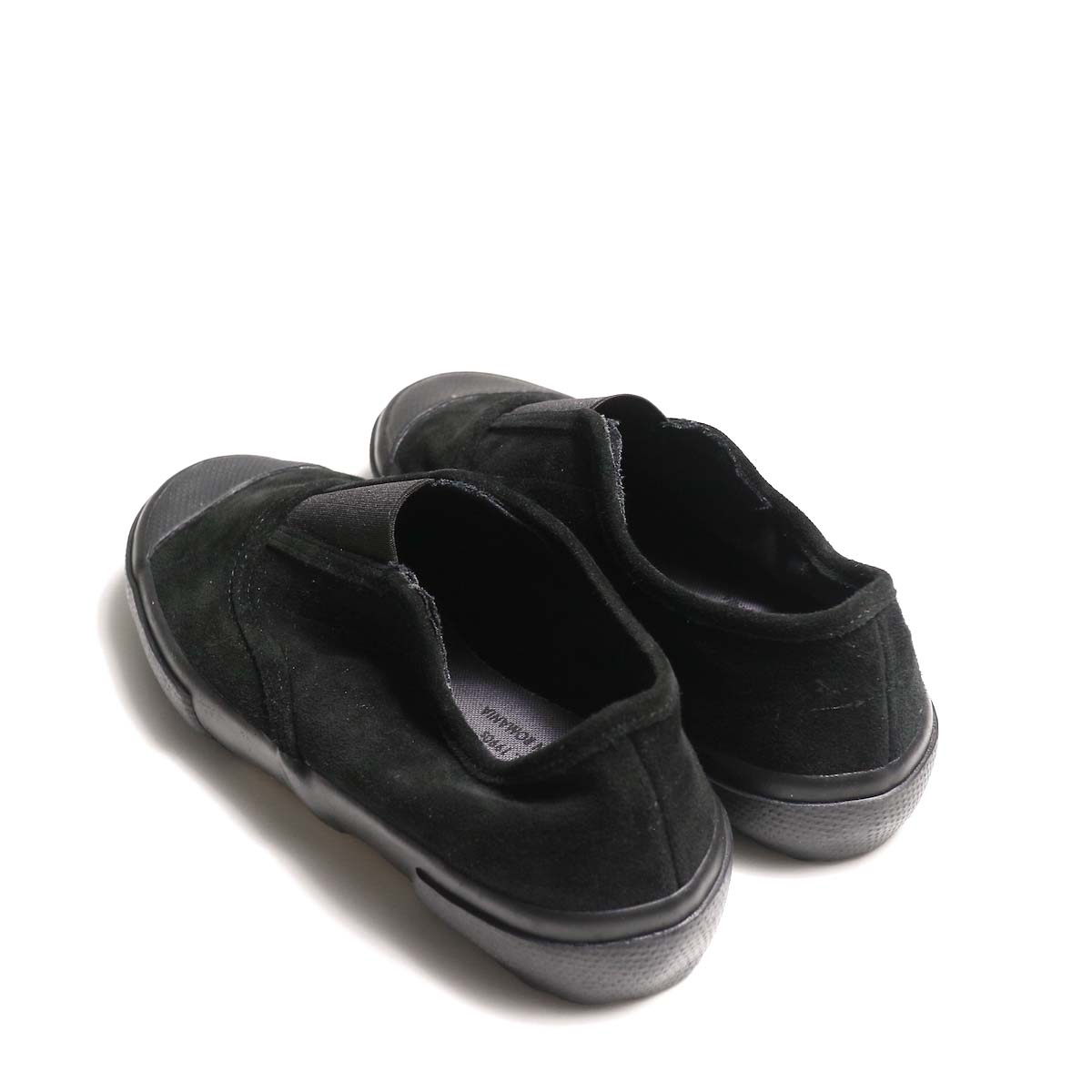 REPRODUCTION OF FOUND / ITALIAN MILITARY TRAINER (Black Suede)背面