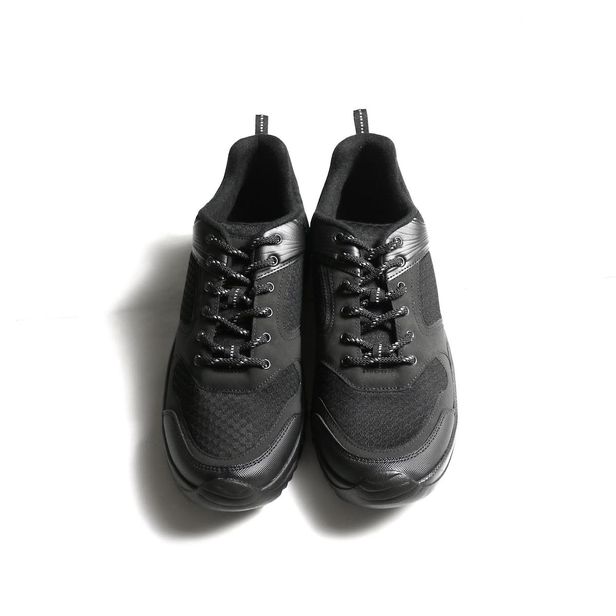REPRODUCTION OF FOUND / GERMAN MILITARY TRAINER (Black) 正面