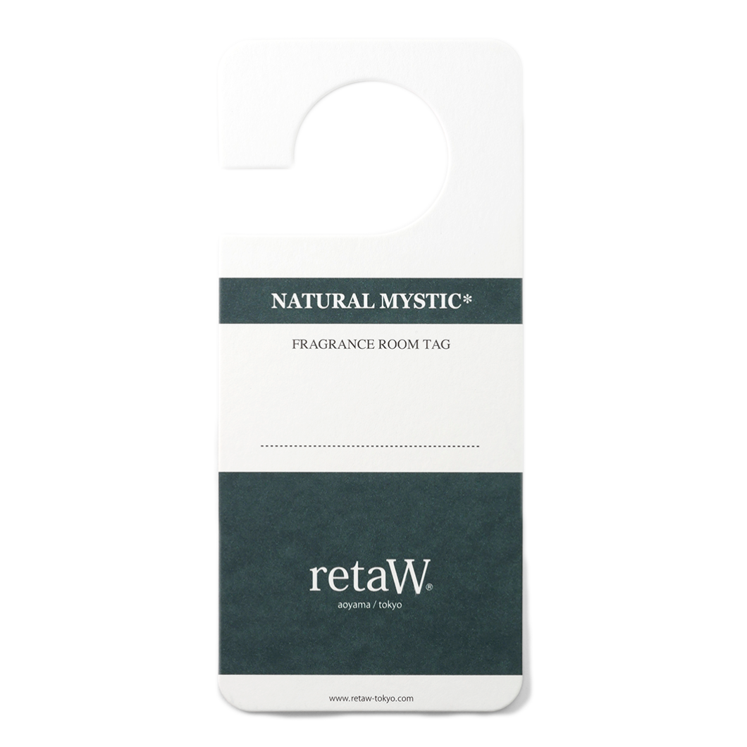 retaW / Room Tag -NATURAL MYSTIC