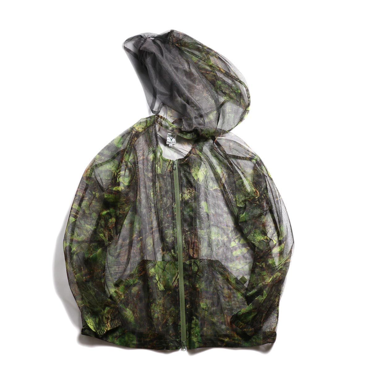 SOUTH2 WEST8 / Bush Parka -Mesh Print (S2W8 Camo)