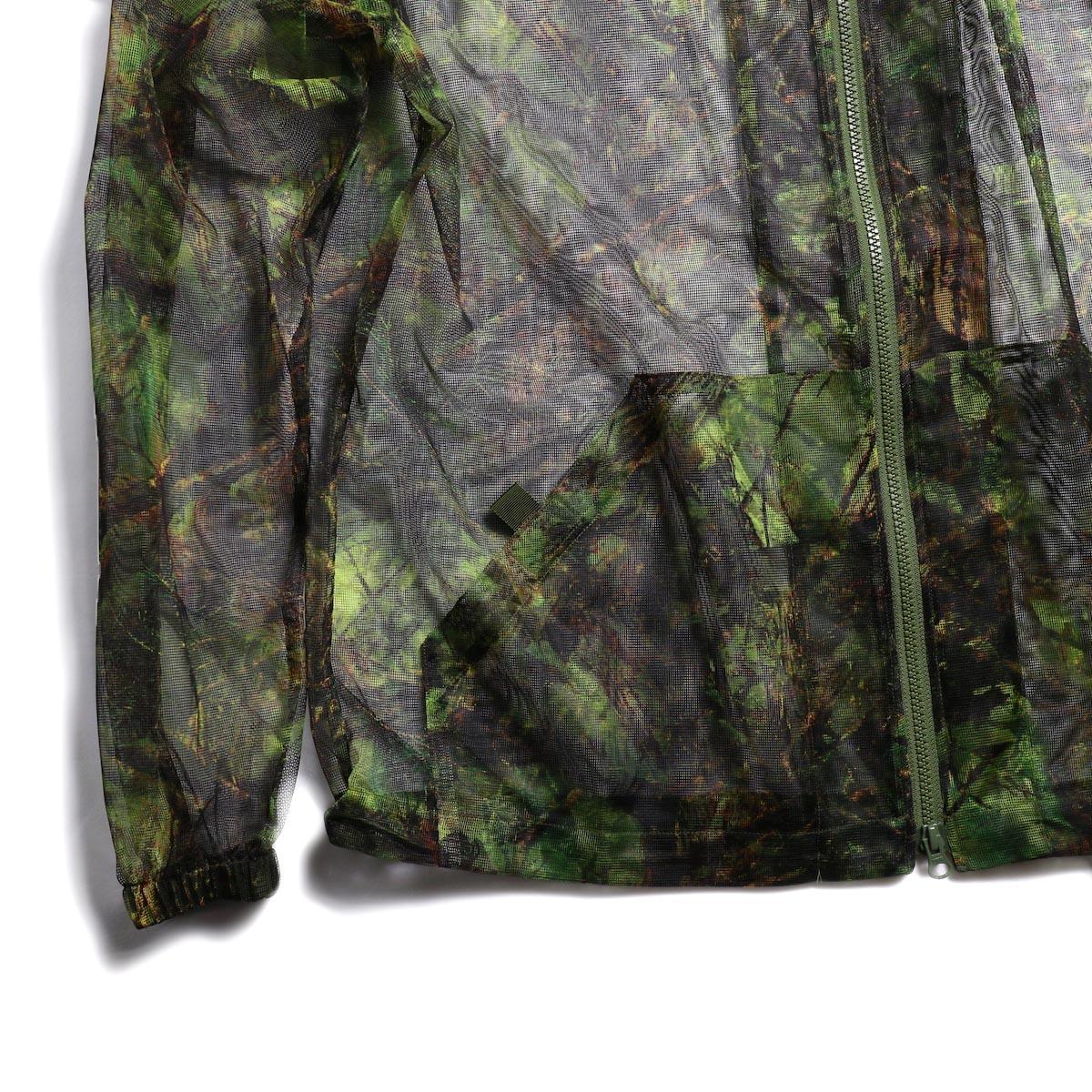 SOUTH2 WEST8 / Bush Parka -Mesh Print (S2W8 Camo) 裾