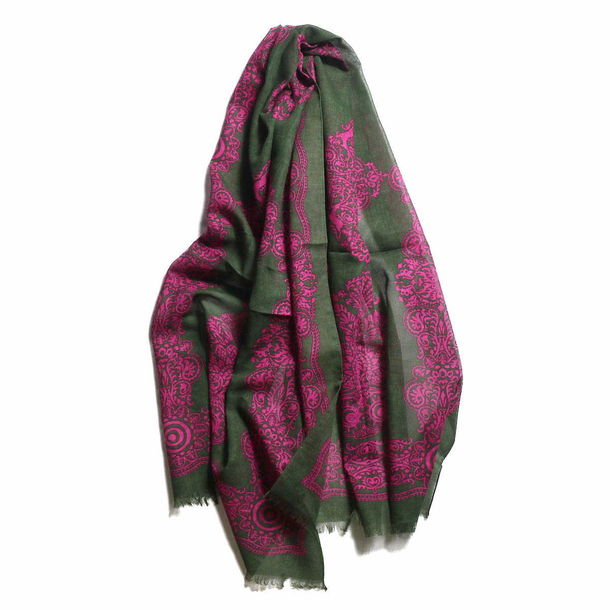 South2 West8 / Stole -Target & Paisley -Olive