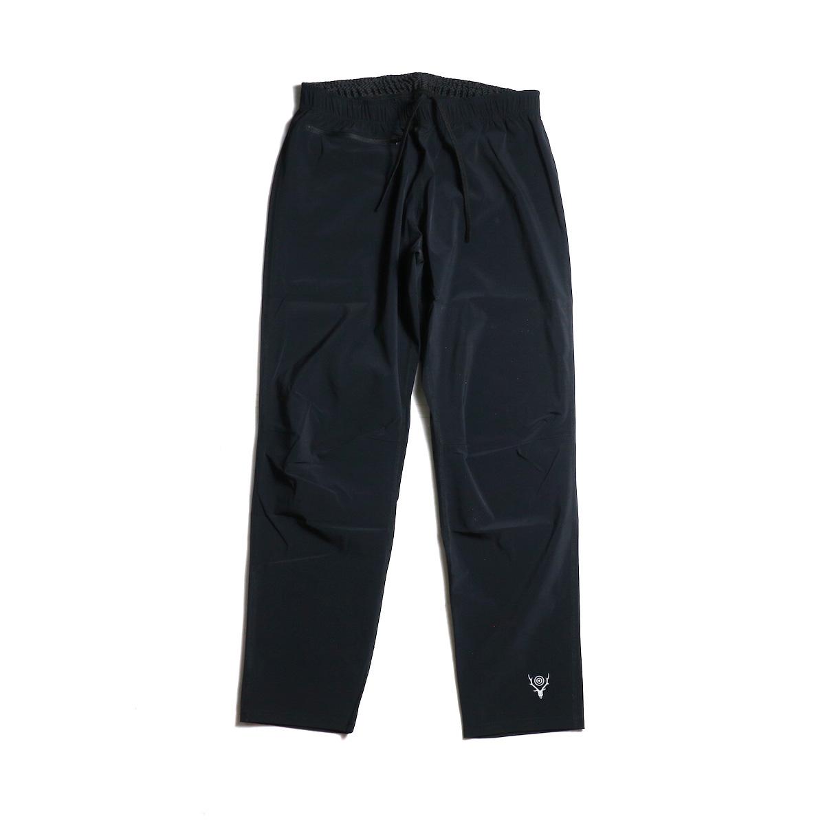 SOUTH2 WEST8 / 1P Cycle Pant-N/Pu Taffeta (Black) 正面