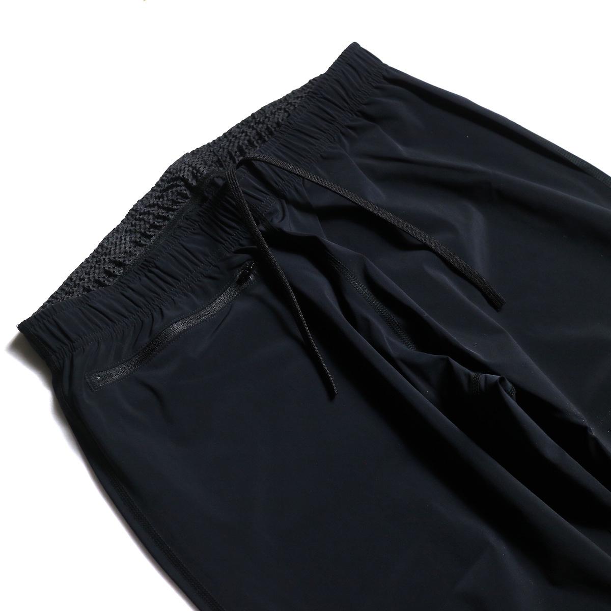 SOUTH2 WEST8 / 1P Cycle Pant-N/Pu Taffeta (Black) ウエスト