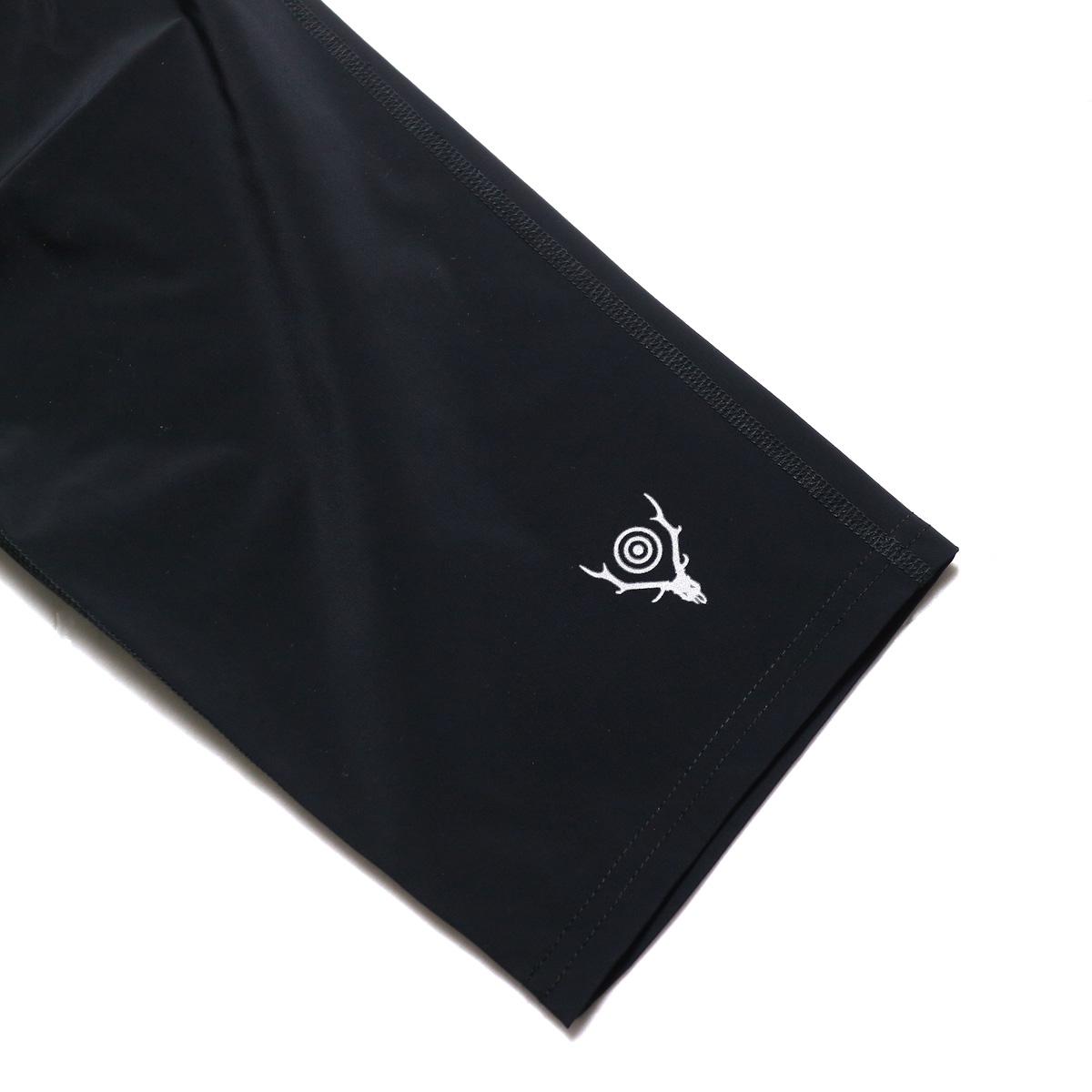 SOUTH2 WEST8 / 1P Cycle Pant-N/Pu Taffeta (Black) 裾