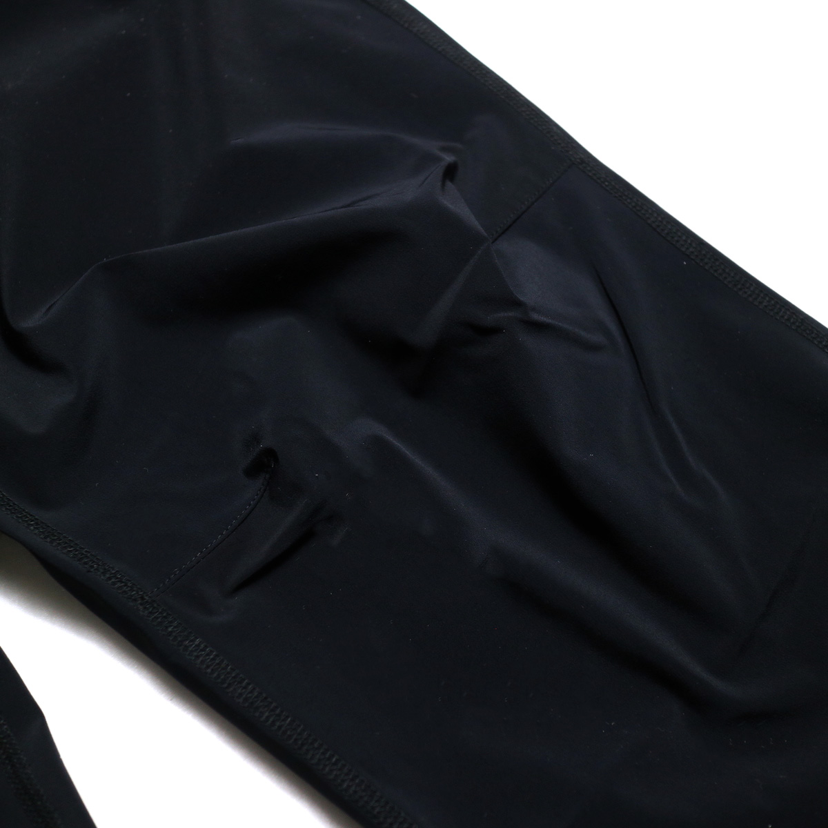 SOUTH2 WEST8 / 1P Cycle Pant-N/Pu Taffeta (Black) 膝