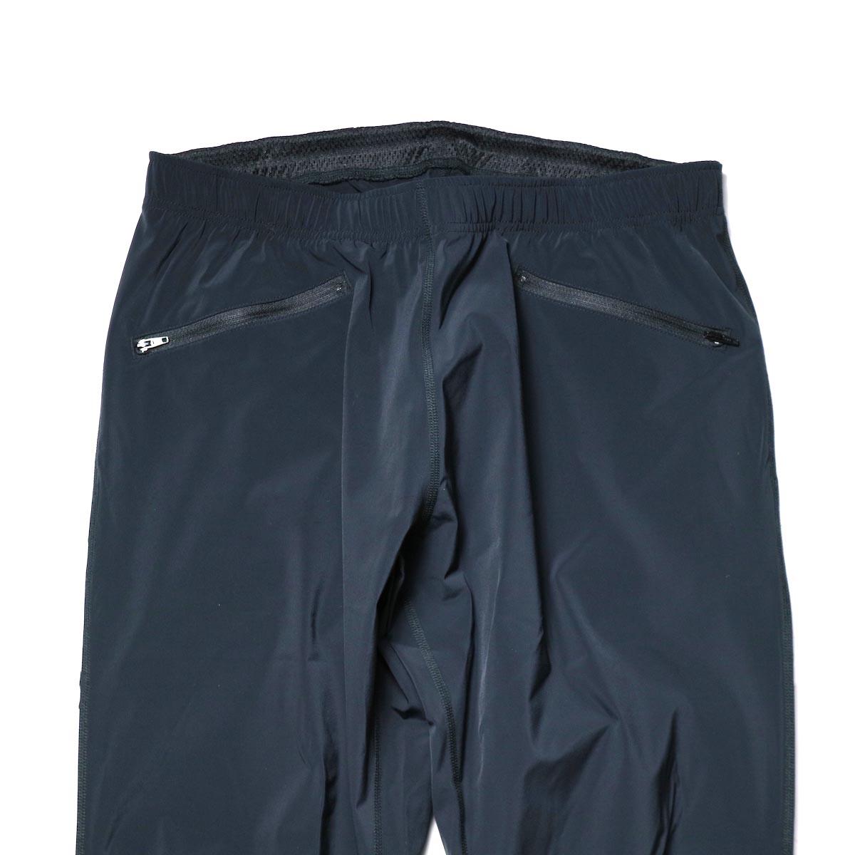 South2 West8 / 2P Cycle Pant -N/Pu Taffeta (Black)正面ポケット