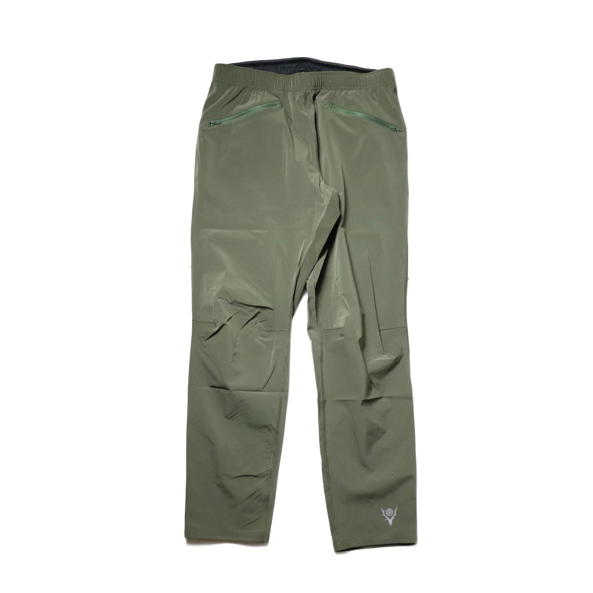 South2 West8 / 2P Cycle Pant -N/Pu Taffeta (Olive)
