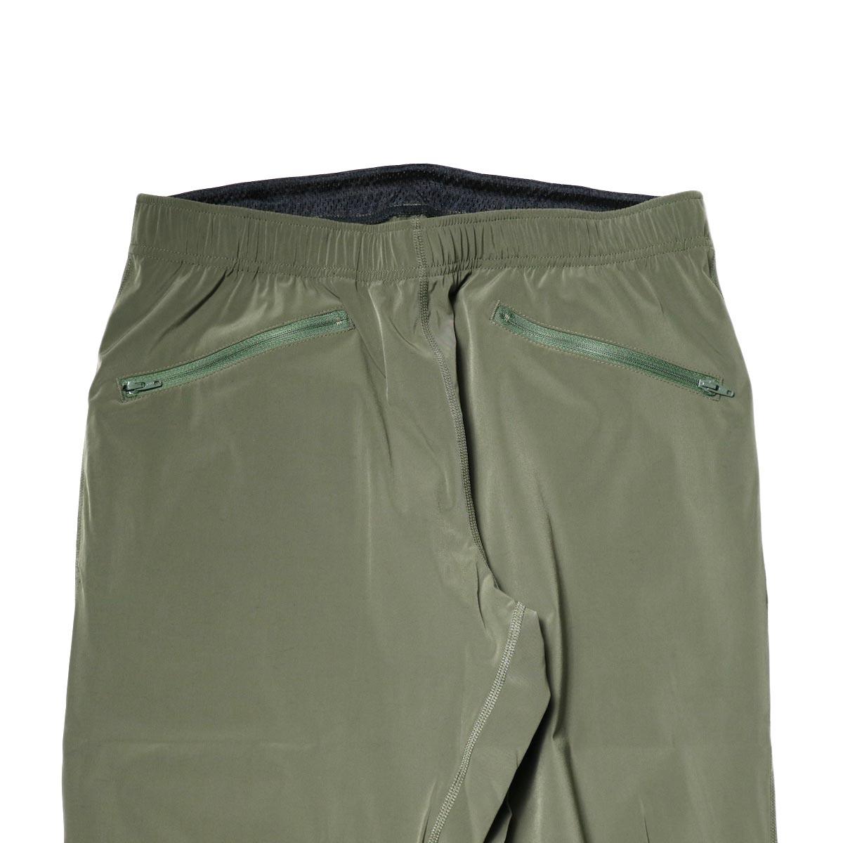 South2 West8 / 2P Cycle Pant -N/Pu Taffeta (Olive)正面ポケット