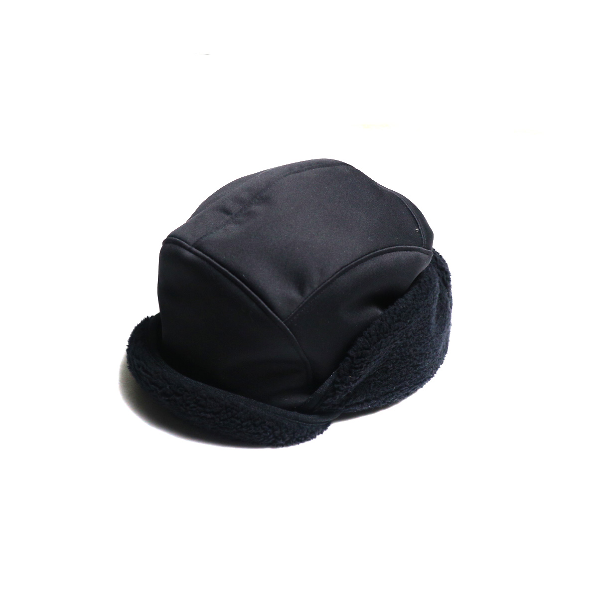 SOUTH2 WEST8 / Bird Shooting Cap (Poly Jersey / Boa Lined)(Black)