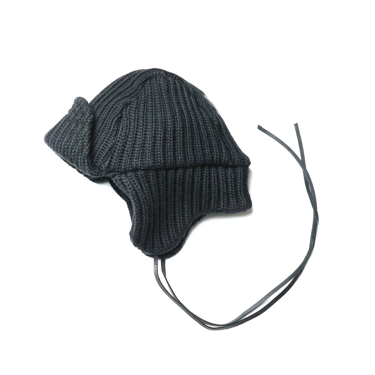 South2 West8 / Bomber Cap - w/a knit (Black)