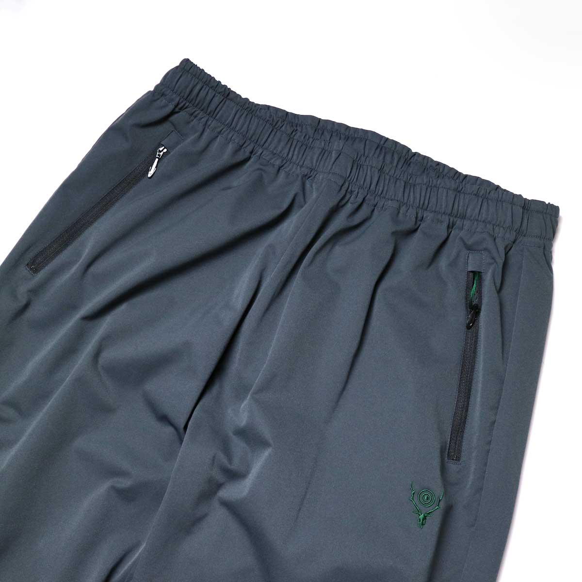 South2 West8 / Boulder Pant -Poly Stretch Twill (Charcoal)ウエスト