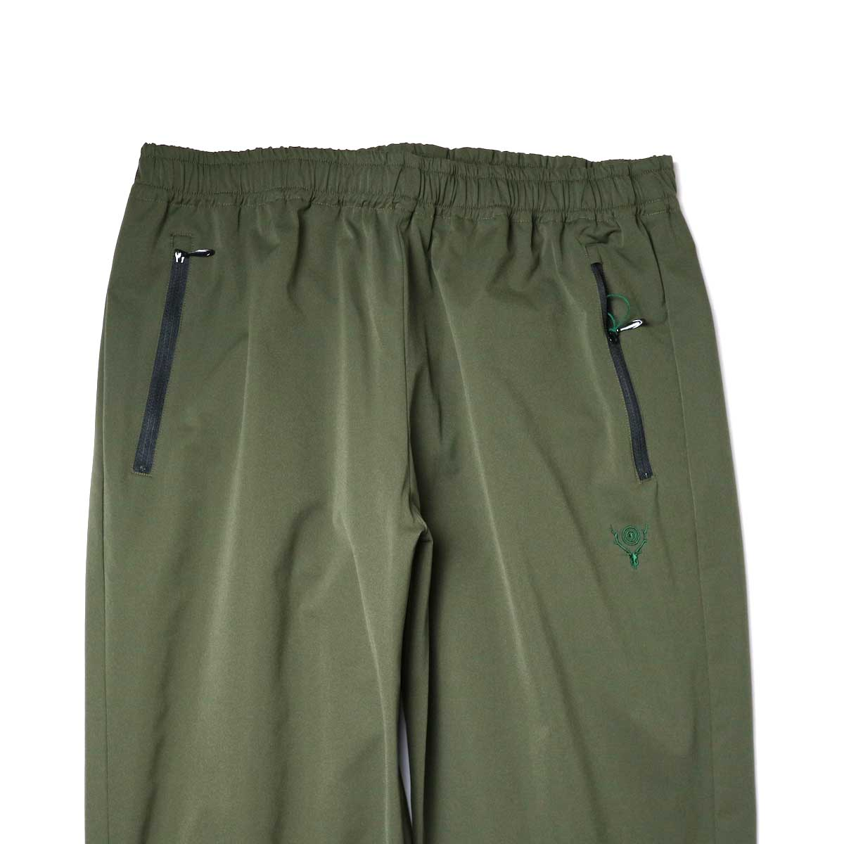 South2 West8 / Boulder Pant -Poly Stretch Twill (Green)ウエスト