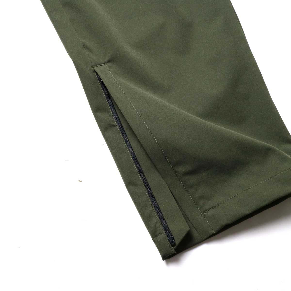 South2 West8 / Boulder Pant -Poly Stretch Twill (Green)裾zip