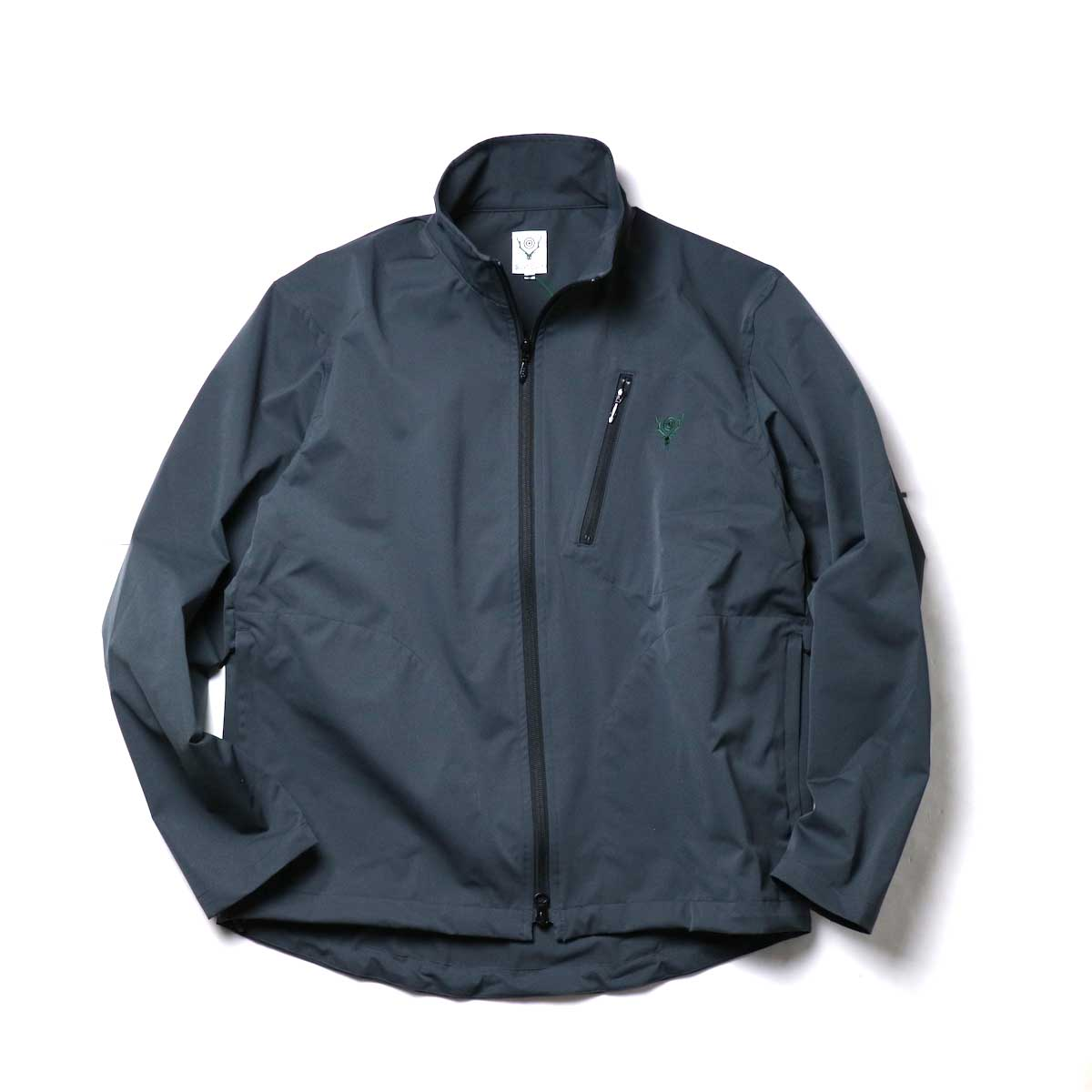 South2 West8 / Boulder Shirt -Poly Stretch Twill (Charcoal)