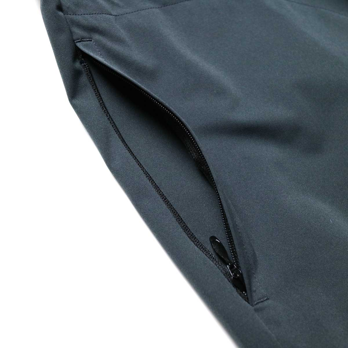 South2 West8 / Boulder Shirt -Poly Stretch Twill (Charcoal)ポケット