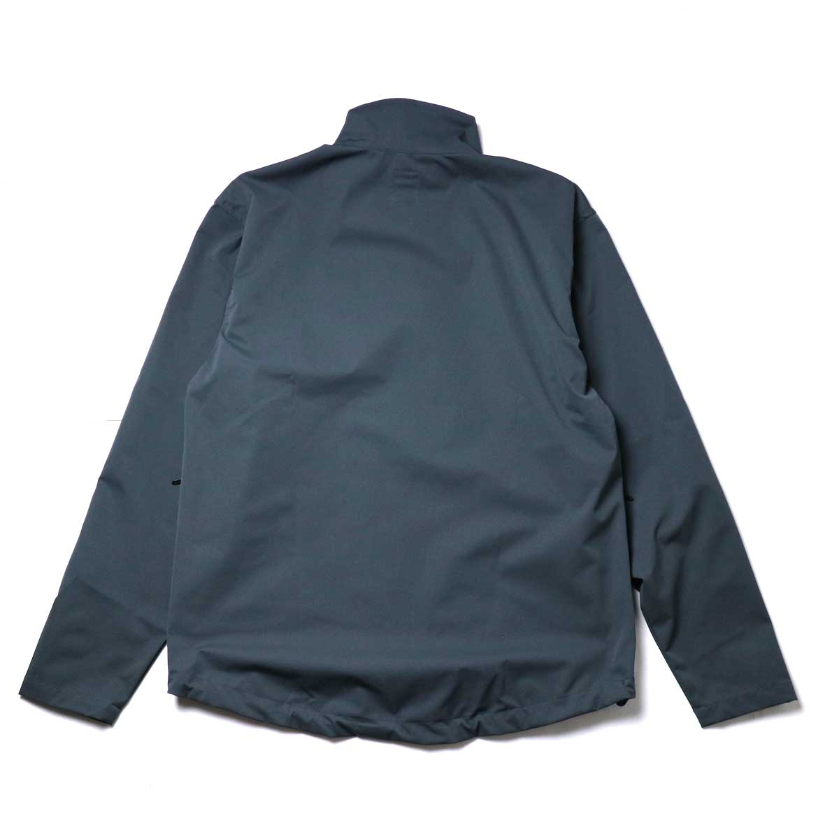 South2 West8 / Boulder Shirt -Poly Stretch Twill (Charcoal)背面