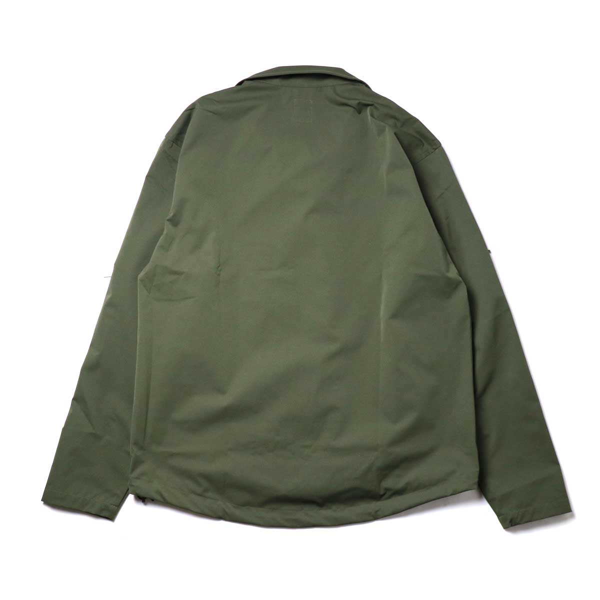 South2 West8 / Boulder Shirt -Poly Stretch Twill (Green)背面