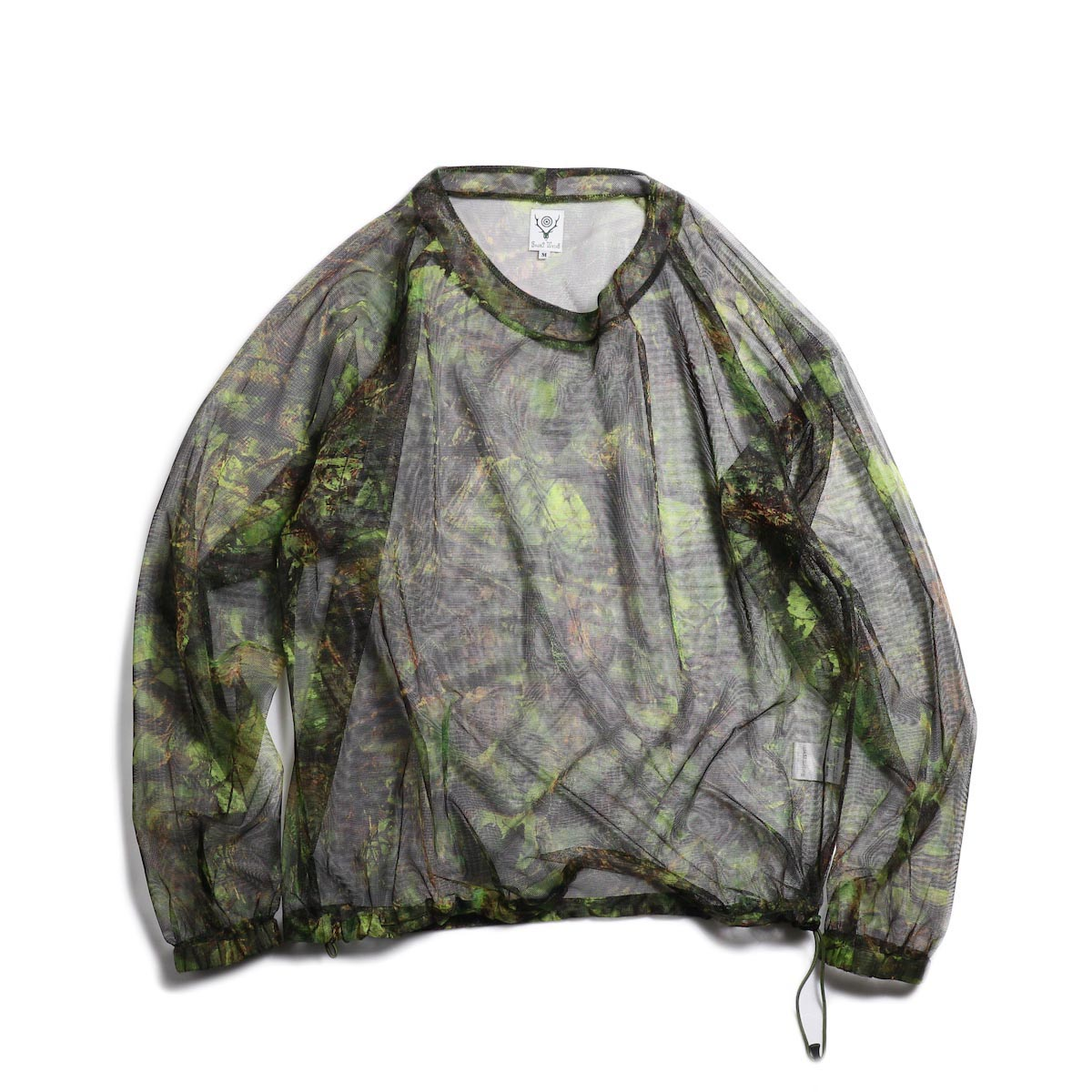 SOUTH2 WEST8 / Bush Shirt -Mesh Print (S2W8 Camo)