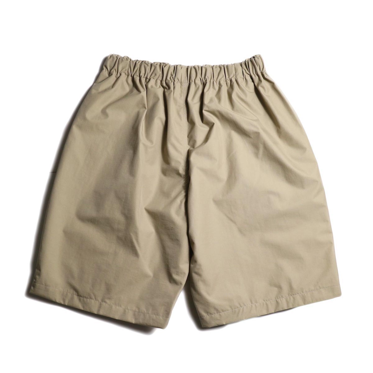 SOUTH2 WEST8 / Belted Center Seam Short -Nylon Tussore (Beige)背面