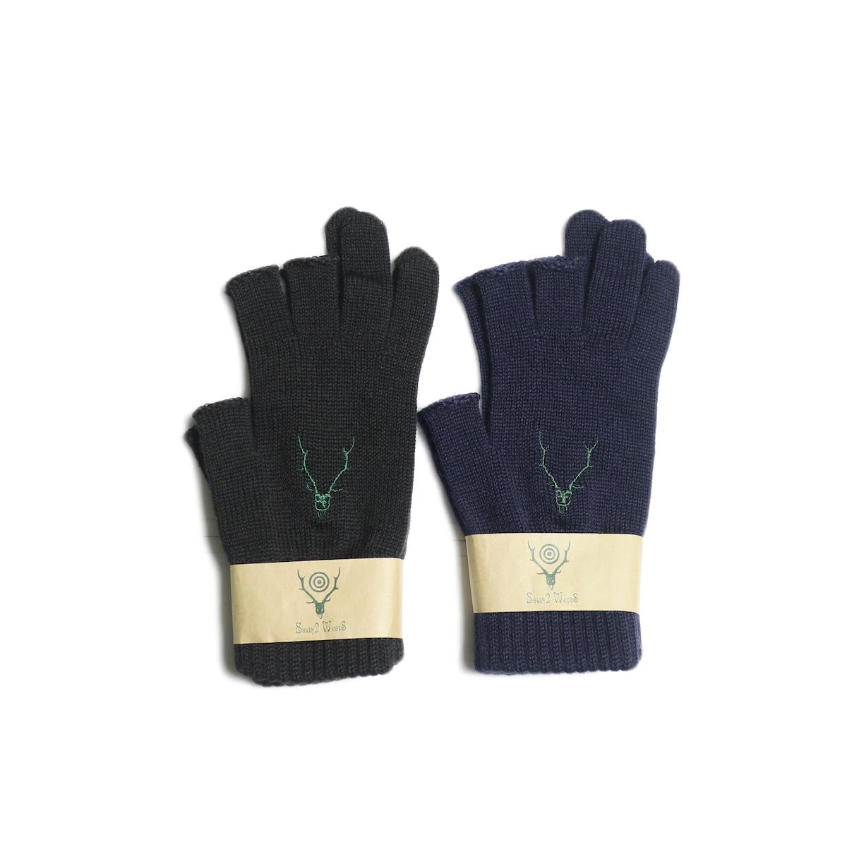 SOUTH2 WEST8 / Glove -W/A Knit