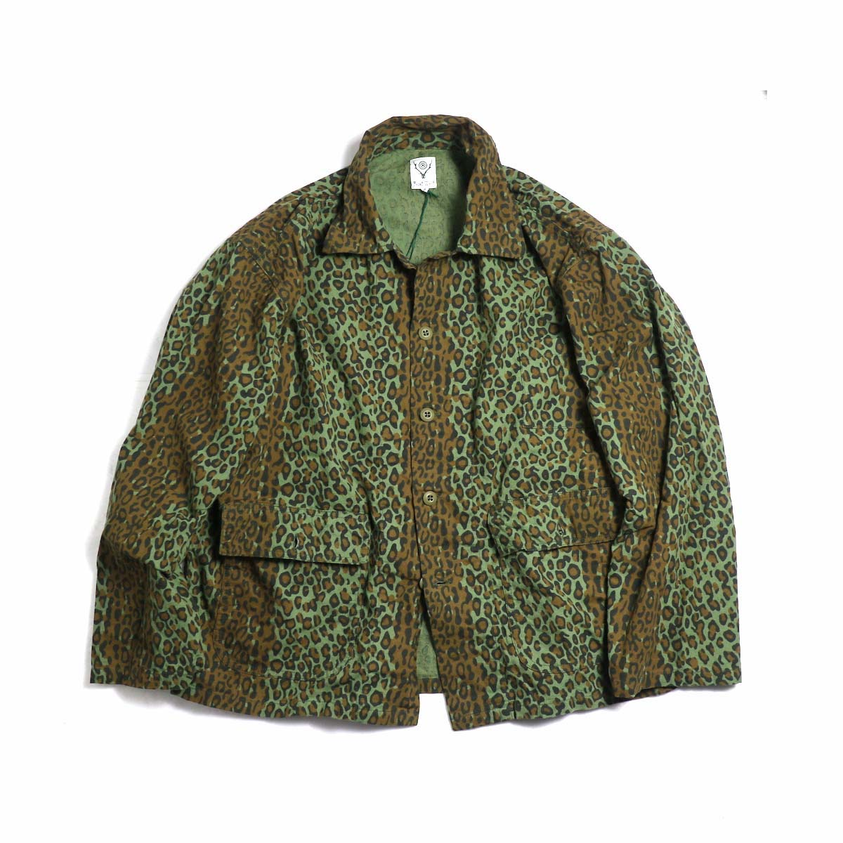 South2 West8 / HUNTING SHIRT - PRINTED FLANNEL / CAMOUFLAGE