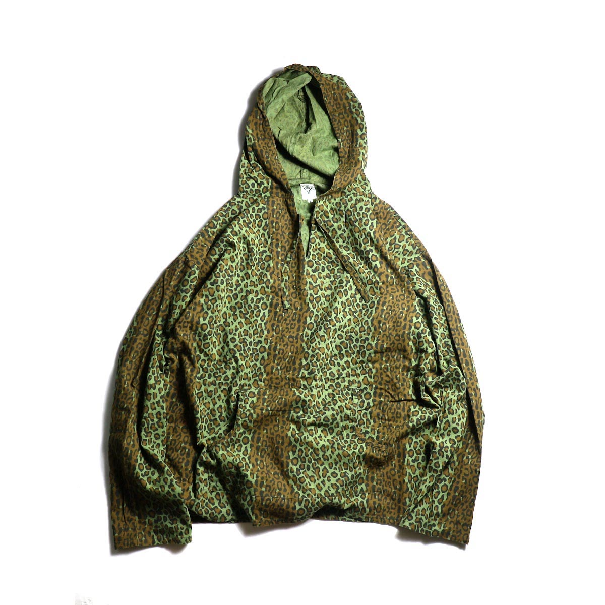 SOUTH2 WEST8 / Mexican Parka -PRINTED FLANNEL / CAMOUFLAGE (Leopard)