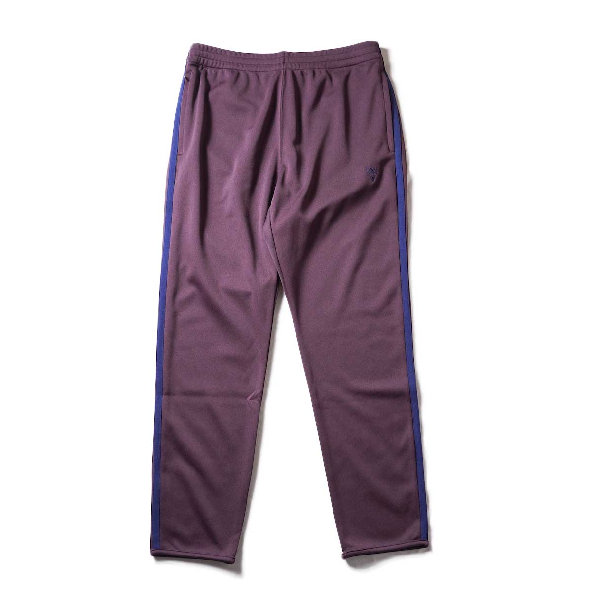 South2 West8 / Trainer Pants - Poly Smooth (Burgundy)正面