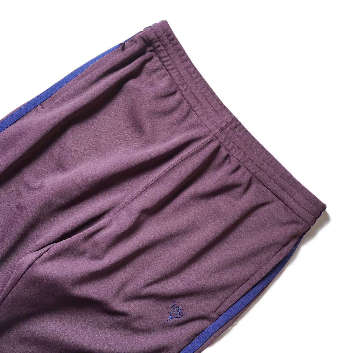 South2 West8 / Trainer Pants - Poly Smooth (Burgundy)ウエスト
