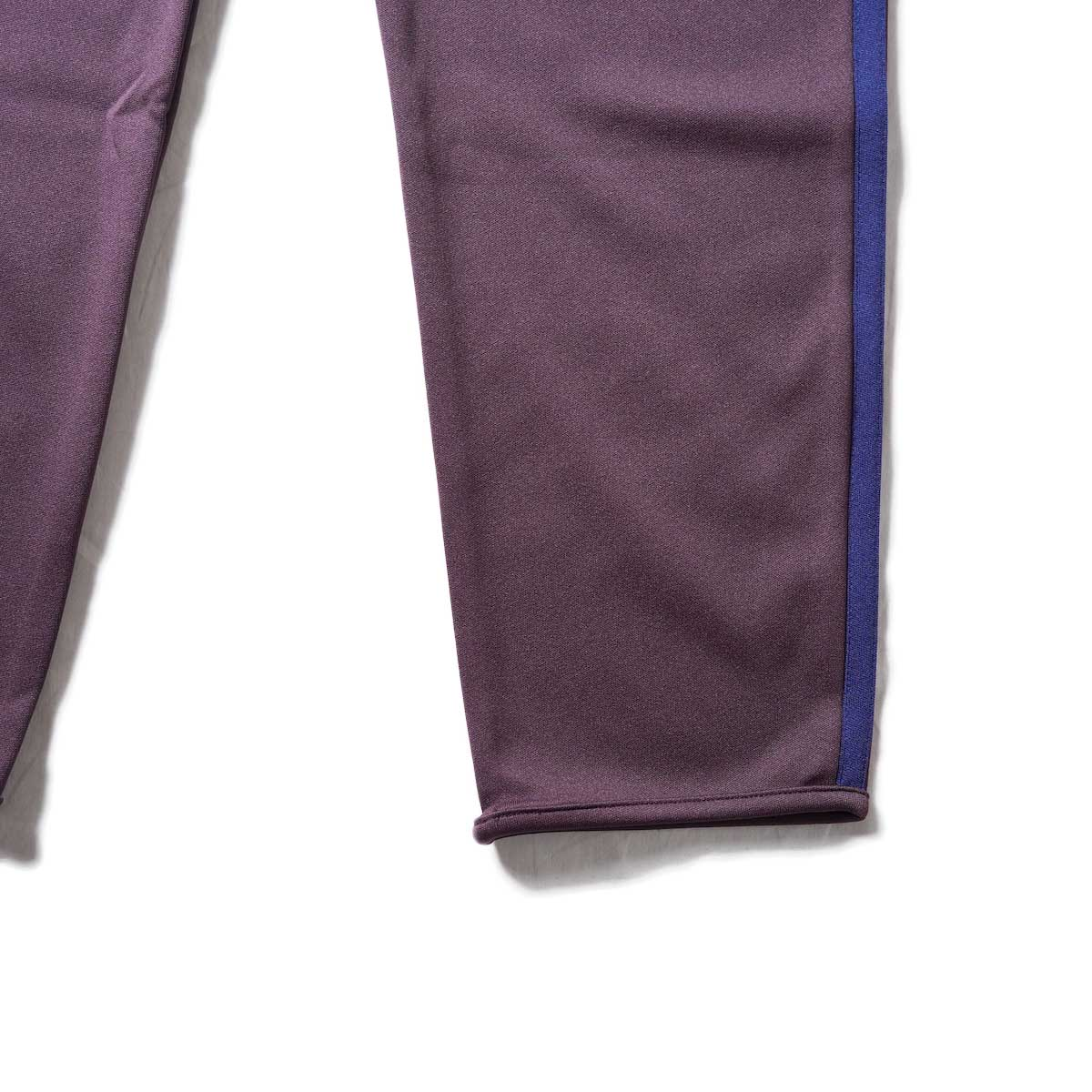 South2 West8 / Trainer Pants - Poly Smooth (Burgundy)裾
