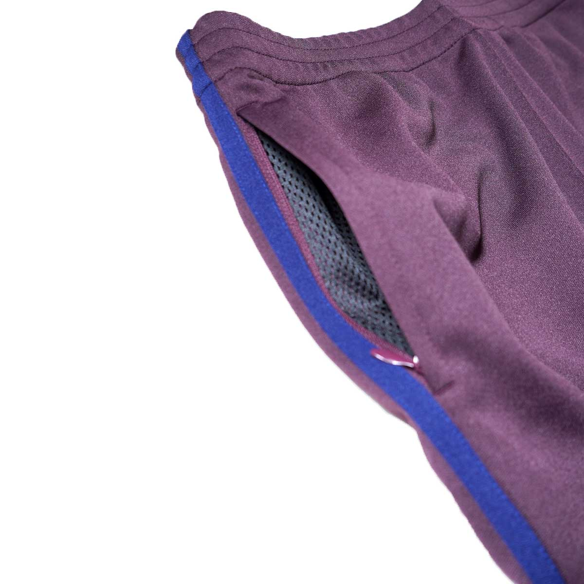 South2 West8 / Trainer Pants - Poly Smooth (Burgundy)サイドポケット