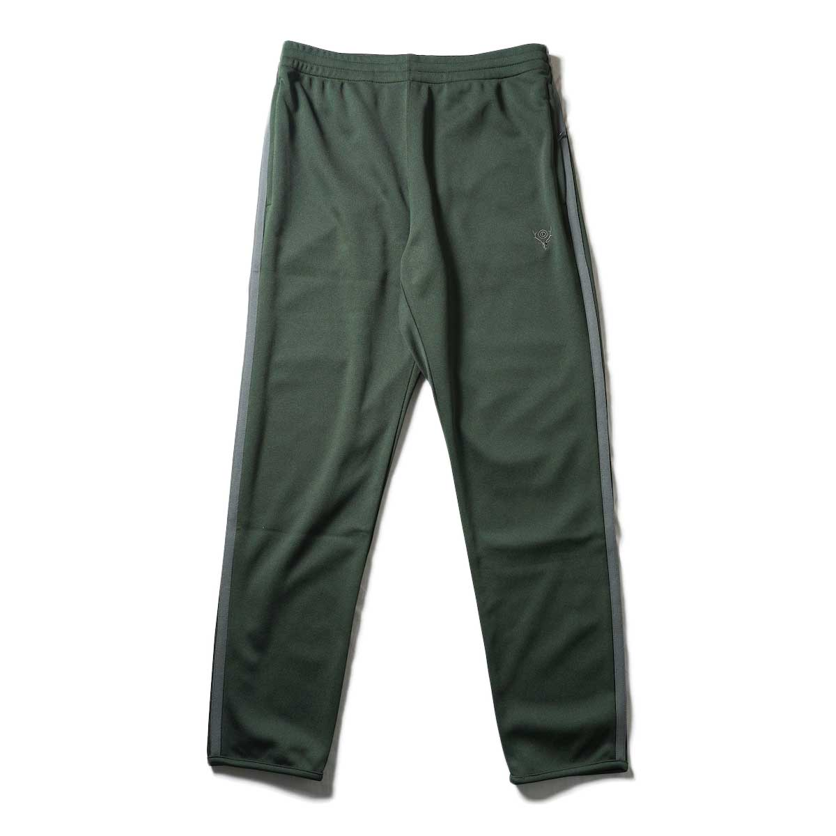 South2 West8 / Trainer Pants - Poly Smooth (Green)正面