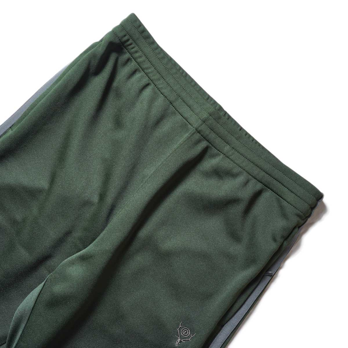 South2 West8 / Trainer Pants - Poly Smooth (Green)ウエスト
