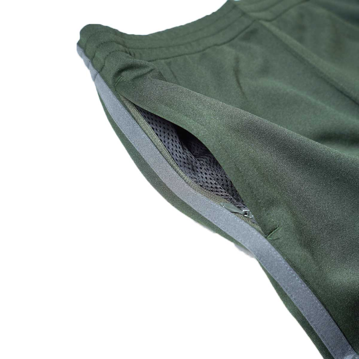 South2 West8 / Trainer Pants - Poly Smooth (Green)サイドポケット