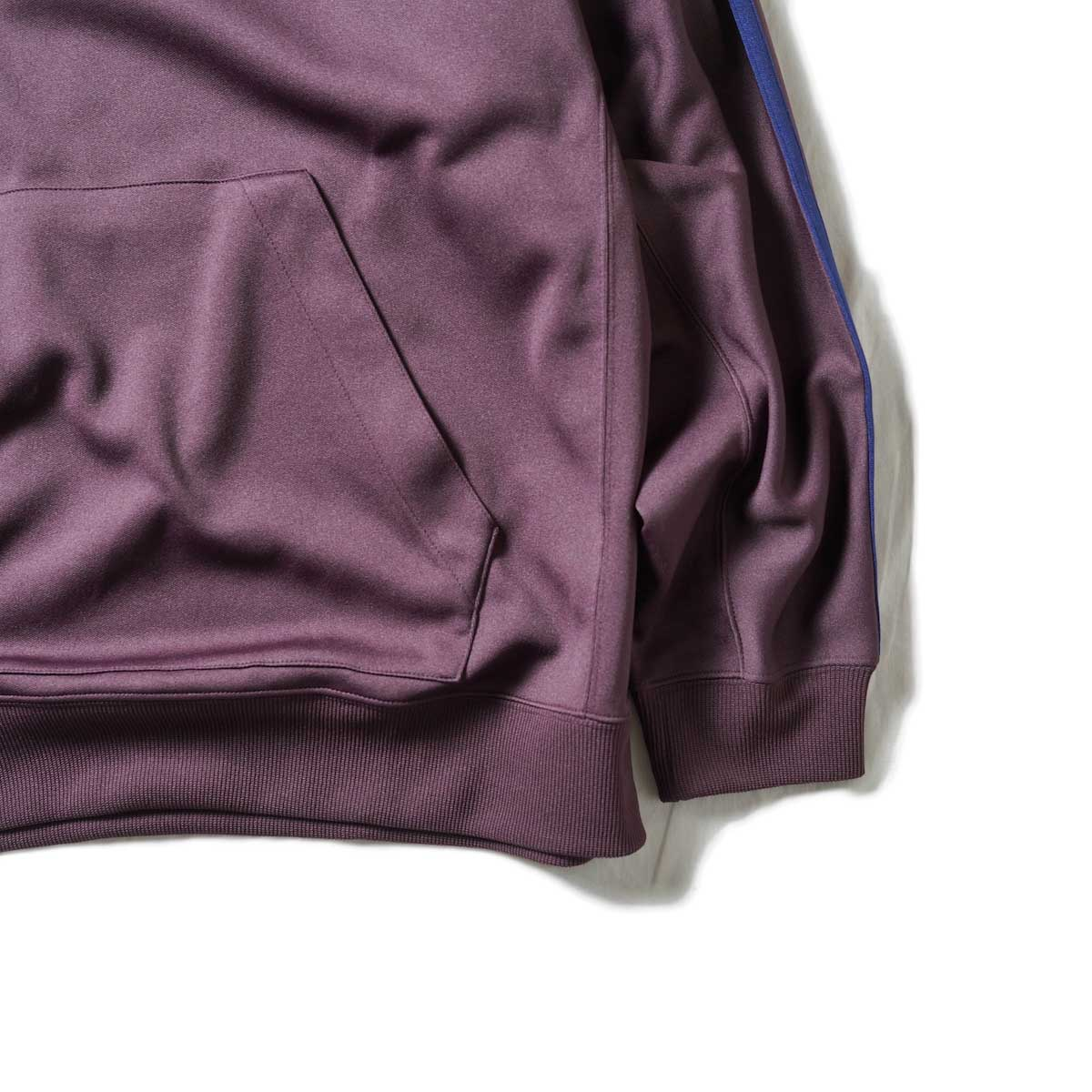 South2 West8 / Trainer Hoody - Poly Smooth (Burgundy)袖、裾
