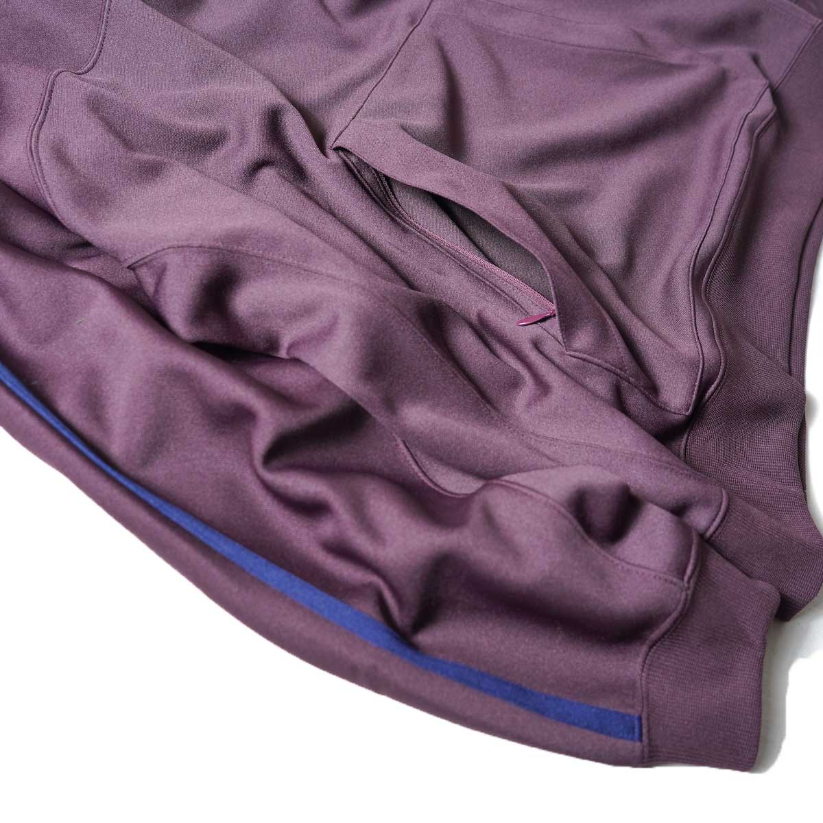 South2 West8 / Trainer Hoody - Poly Smooth (Burgundy)ポケット