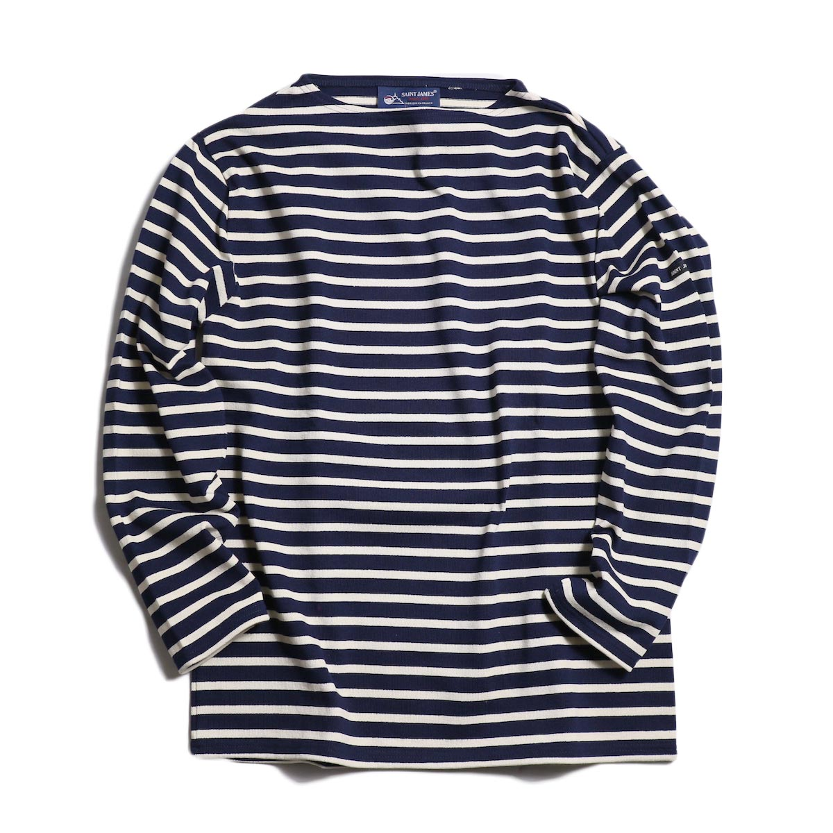 SAINT JAMES / OUESSANT R A -NAVY/ECRU