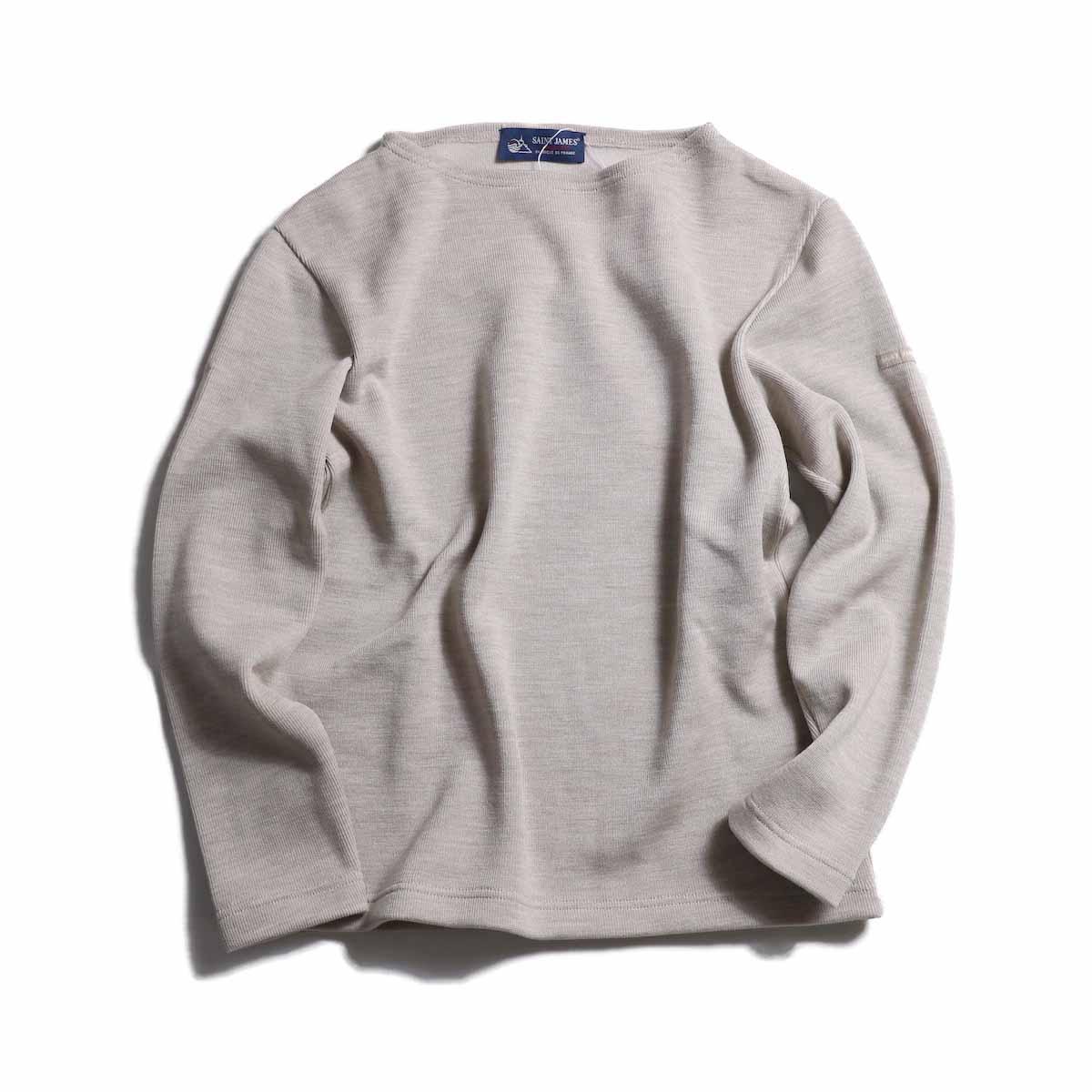 SAINT JAMES / Double Face Sweater -Sahara