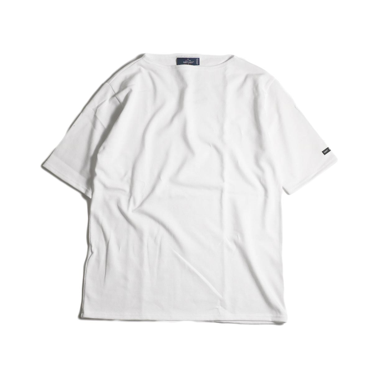 SAINT JAMES / OUESSANT LIGHT SHORT SLEEVE (NEIGE)