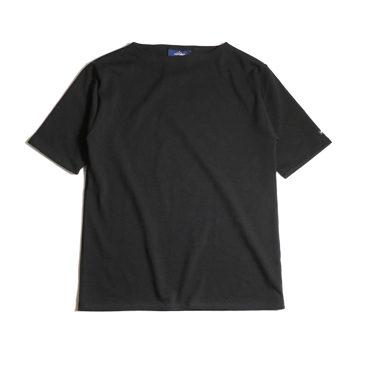 SAINT JAMES / OUESSANT LIGHT SHORT SLEEVE (Noir)