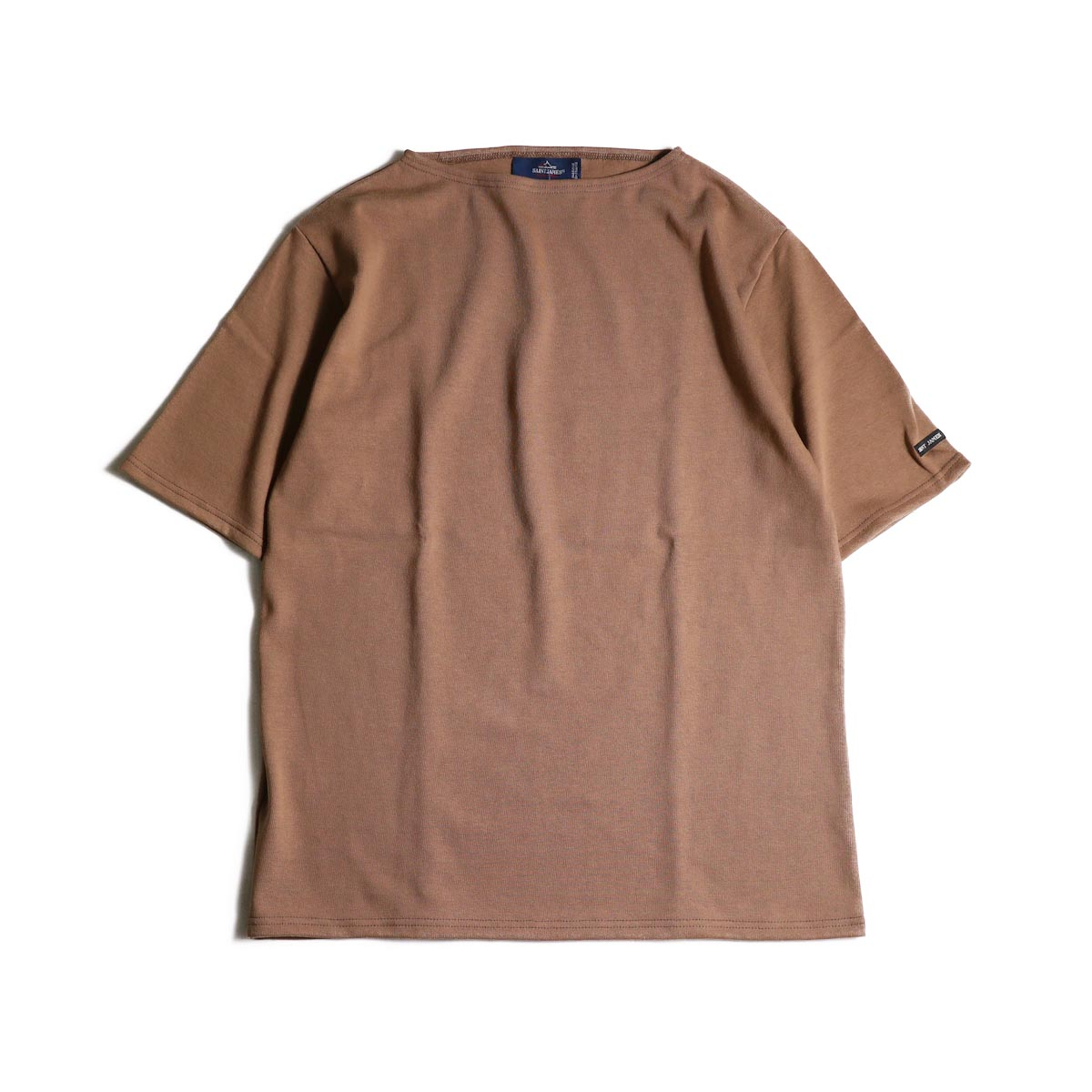 SAINT JAMES / OUESSANT LIGHT SHORT SLEEVE (Noisette)