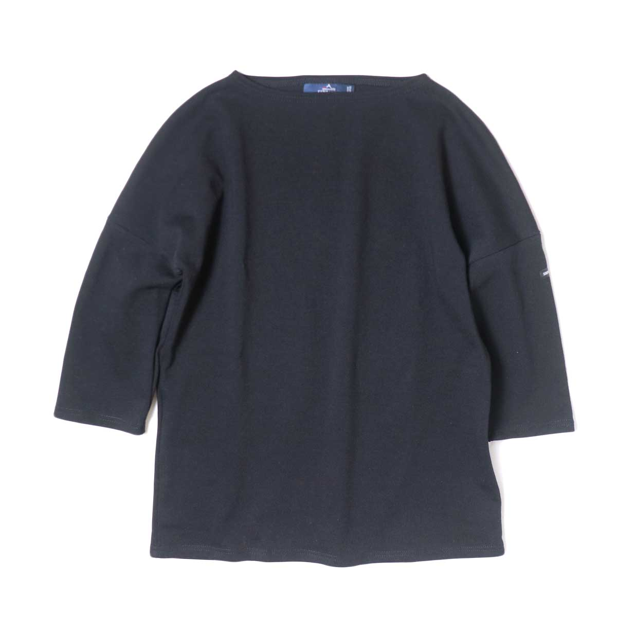 SAINT JAMES / CRAZSLOU (七分袖ドロップショルダー)(Noir)
