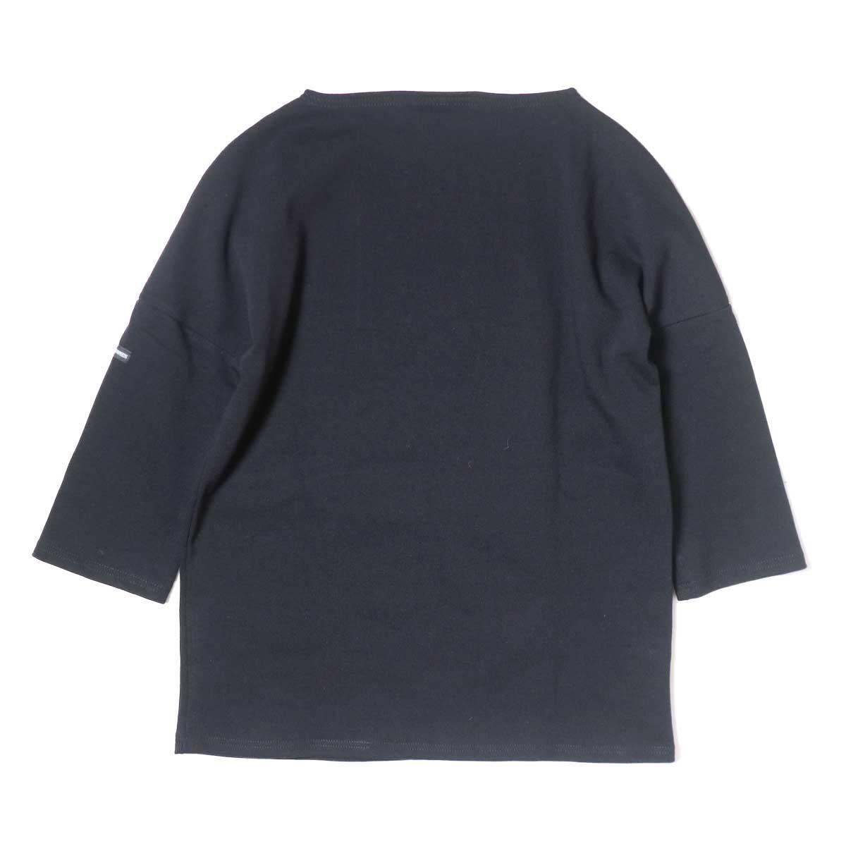 SAINT JAMES / CRAZSLOU (七分袖ドロップショルダー)(Noir) 背面